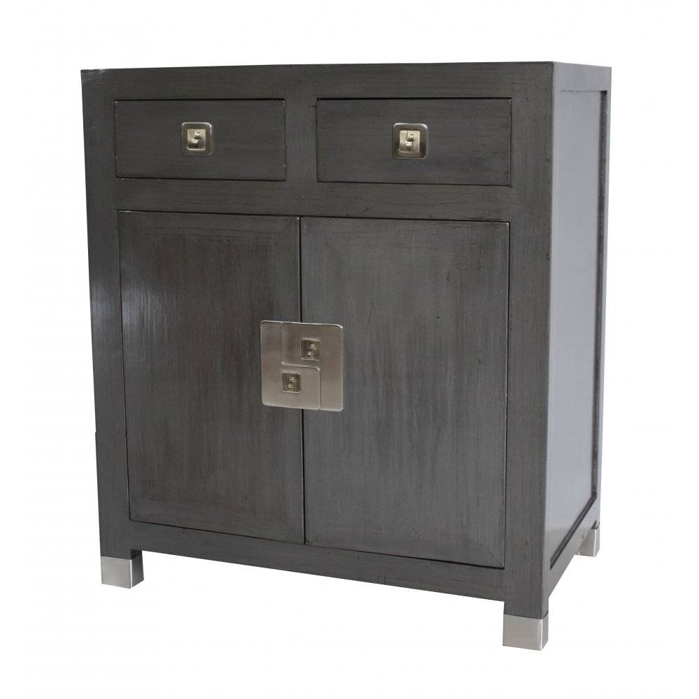 Buy Qing Dao Graphite Grey Contemporary Medium Sideboard Online pertaining to Grey Sideboards (Image 4 of 30)