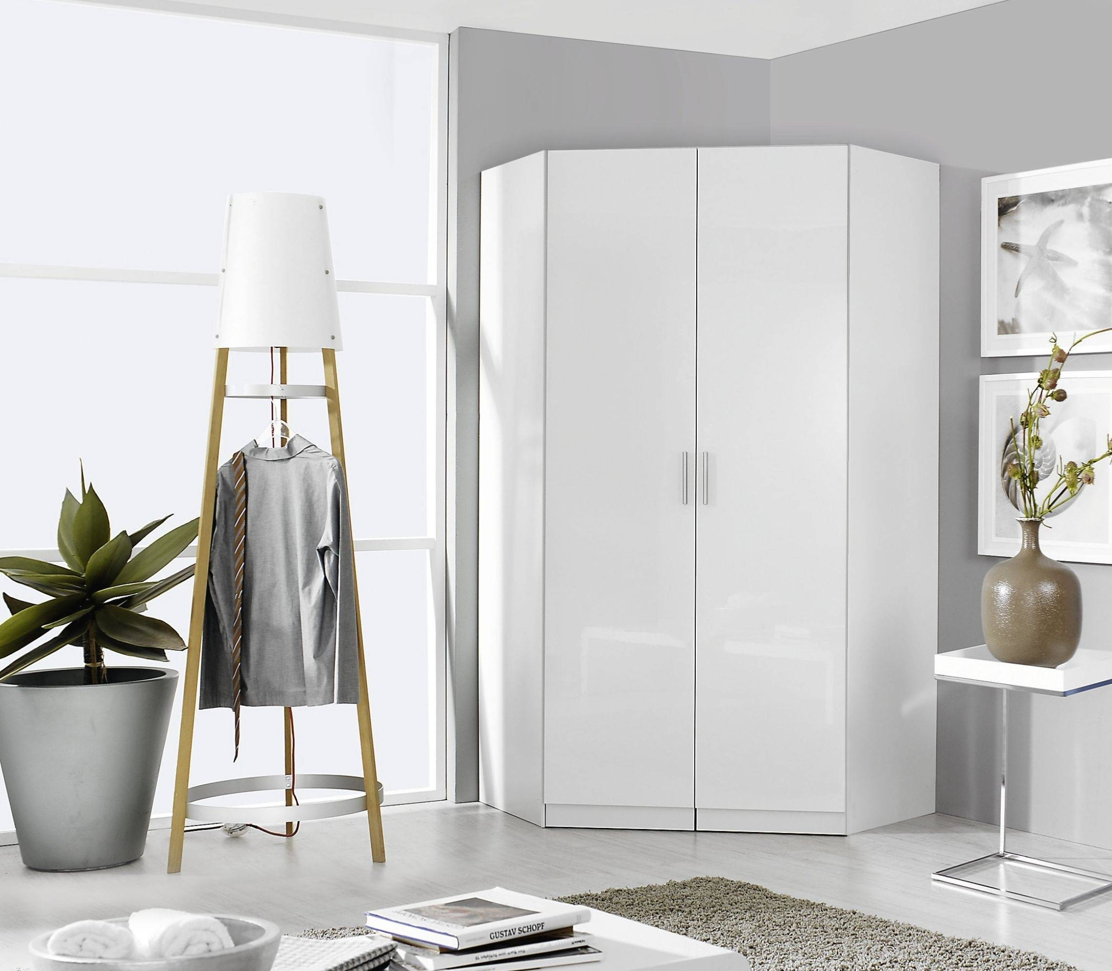 Buy Rauch Celle Corner Wardrobe Online - Cfs Uk regarding White Corner Wardrobes (Image 1 of 15)