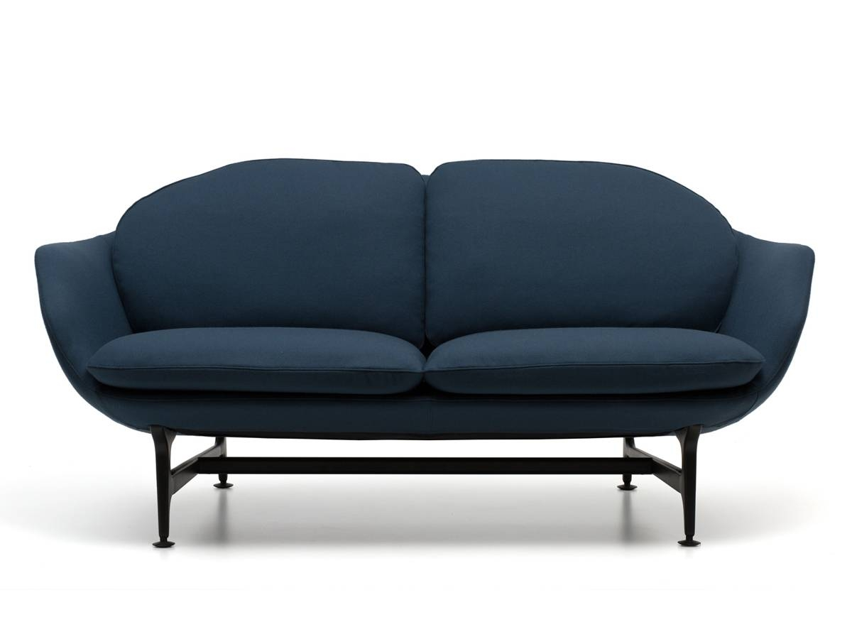 Buy The Cassina 399 Vico Two Seater Sofa At Nest.co.uk for Two Seater Sofas (Image 4 of 30)