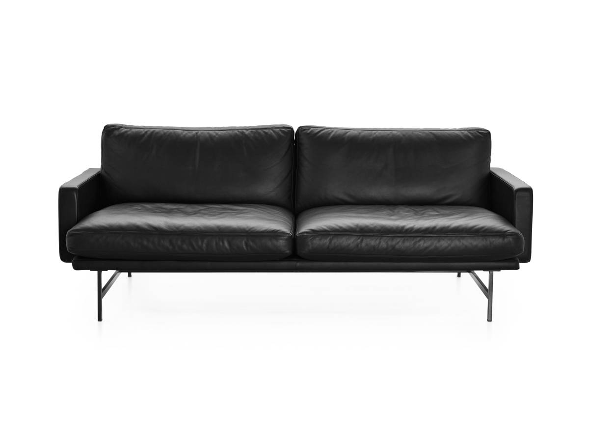 Buy The Fritz Hansen Lissoni Two Seater Sofa At Nest.co.uk regarding Two Seater Sofas (Image 8 of 30)