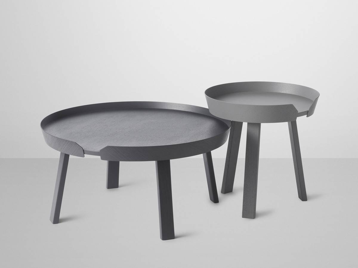 Buy The Muuto Around Coffee Table At Nest.co.uk inside Grey Coffee Tables (Image 7 of 30)