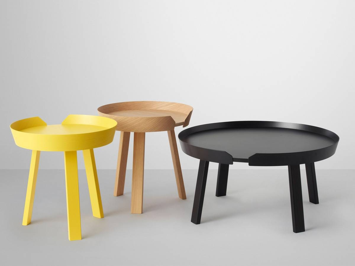 Buy The Muuto Around Coffee Table At Nest.co.uk pertaining to Nest Coffee Tables (Image 3 of 30)