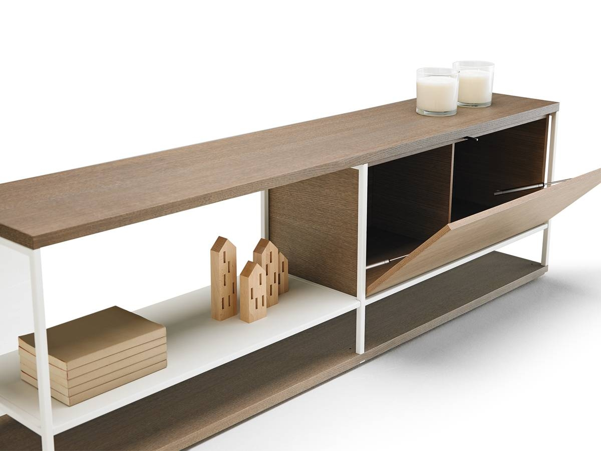 Buy The Punt Literatura Open Low Sideboard At Nest.co.uk pertaining to Low Sideboards (Image 1 of 30)