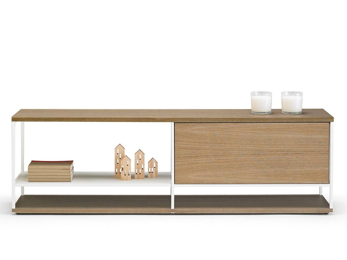 Buy The Punt Literatura Open Low Sideboard At Nest.co.uk with Low Sideboards (Image 2 of 30)