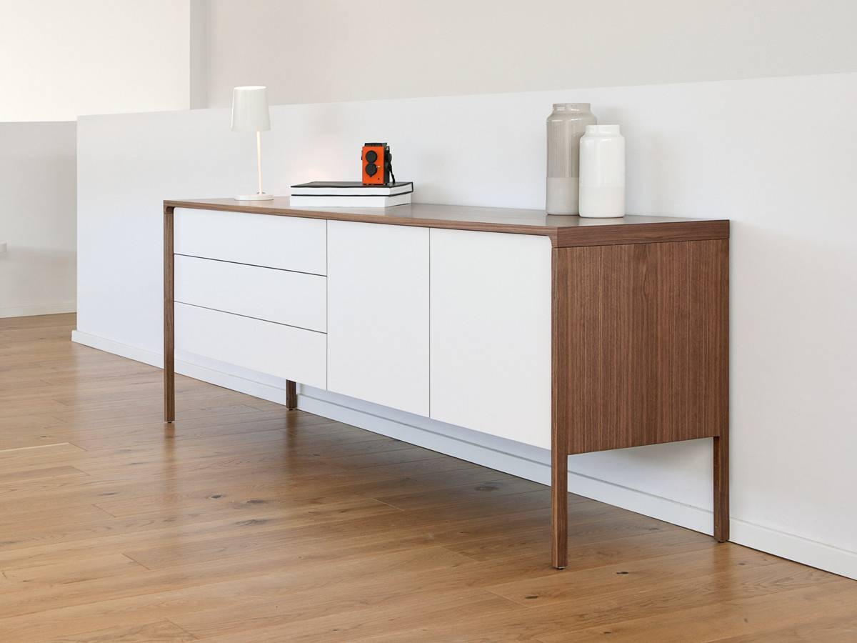 Buy The Punt Tactile Long Sideboard At Nest.co.uk with regard to Large White Sideboards (Image 6 of 30)