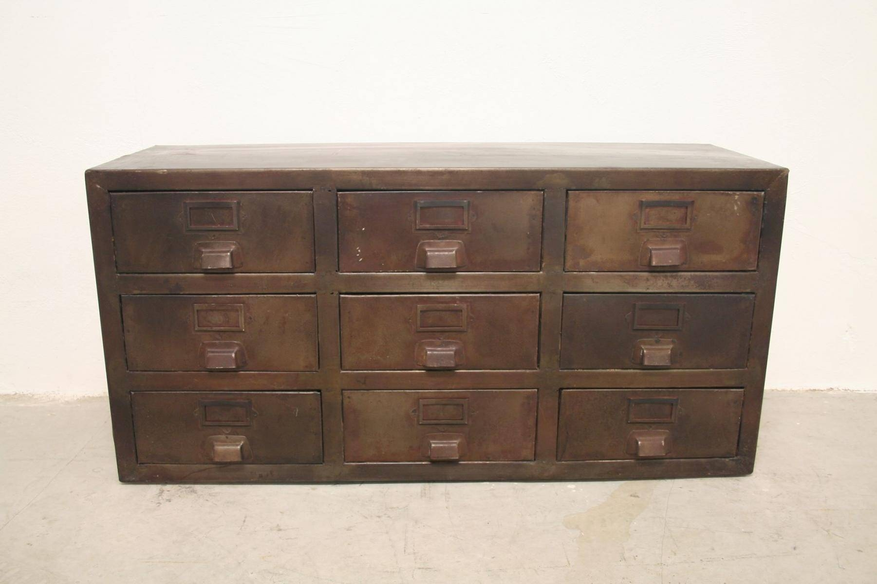 Buy Vintage Industrial Sideboards At Pamono intended for Metal Sideboard Furniture (Image 4 of 30)