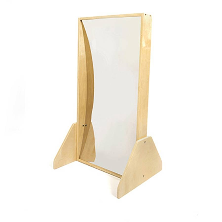 Buy Wooden Framed Freestanding Carnival Mirrors | Tts within Small Free Standing Mirrors (Image 12 of 25)