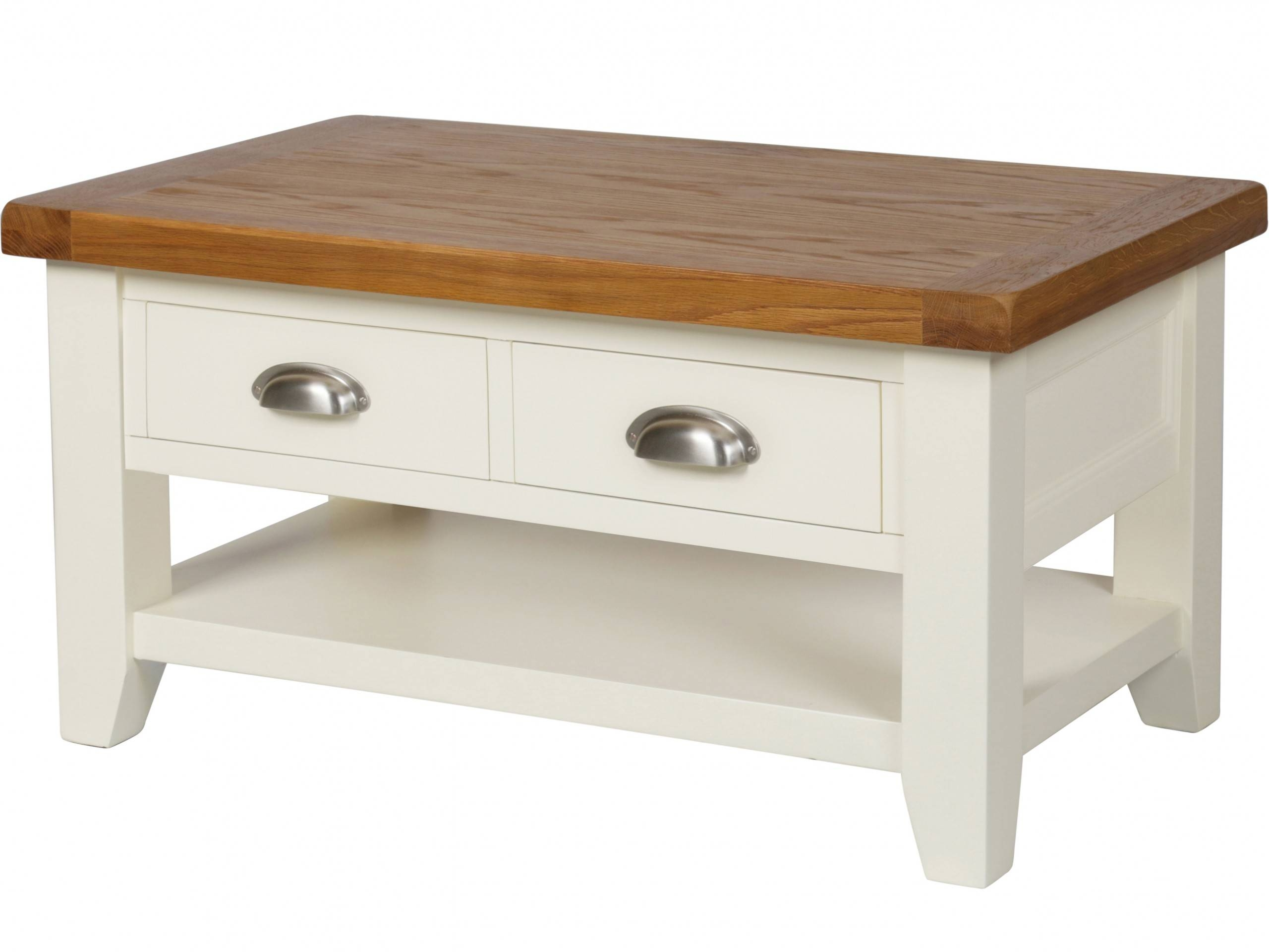 Featured Photo of Cream And Oak Coffee Tables