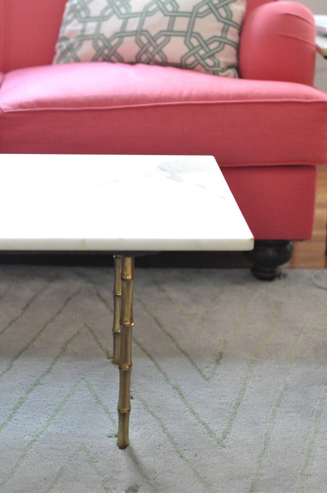 Caitlin Wilson | My Gold & Bamboo Coffee Table pertaining to Gold Bamboo Coffee Tables (Image 12 of 30)