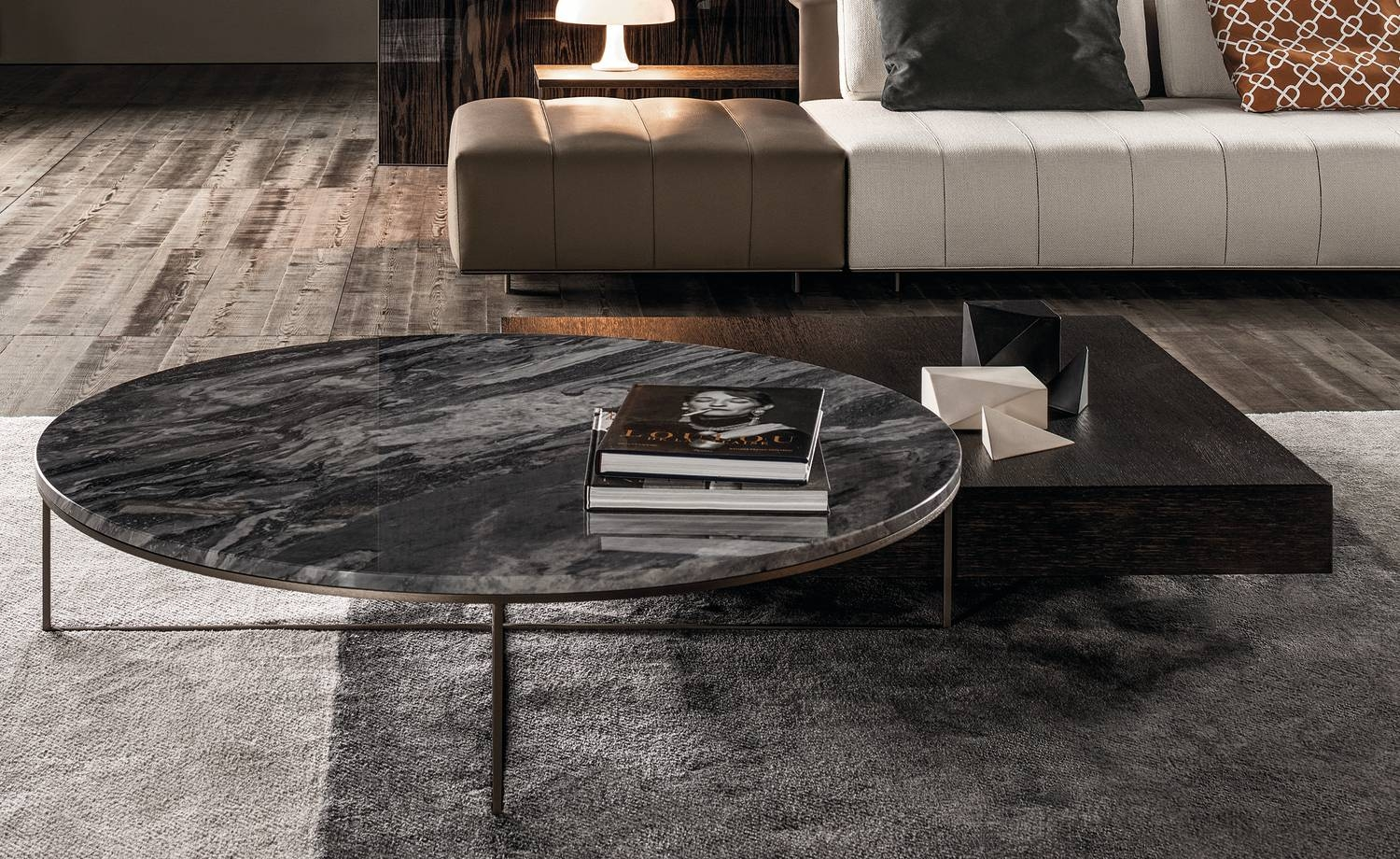 Calder Bronze | Coffee Table Calder Bronze Collectionminotti regarding Bronze Coffee Tables (Image 9 of 30)