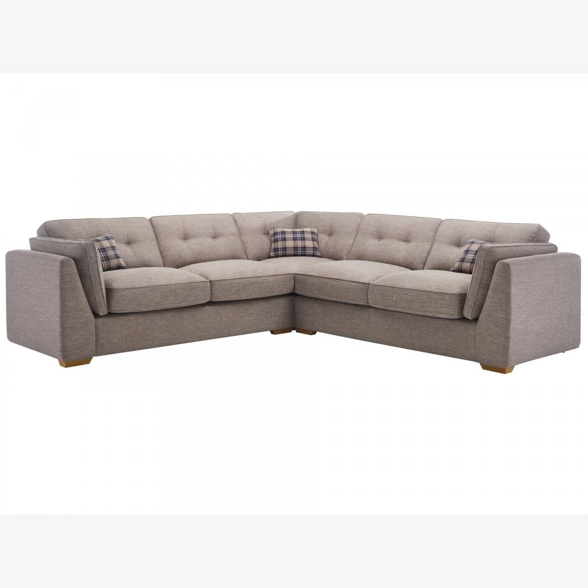 California Large Corner Sofa | High Back | Oak Furniture Land throughout 4 Seater Couch (Image 7 of 30)