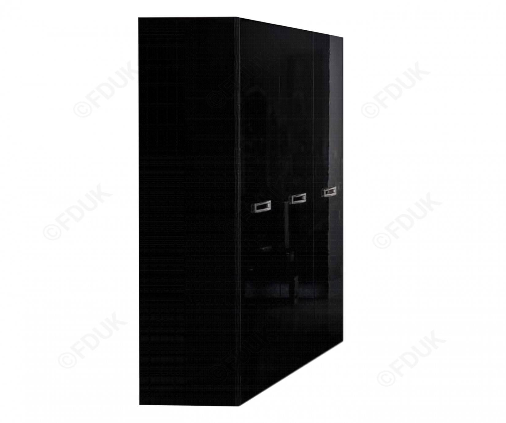 Camel Group La Star Magic | La Star Magic Black 3 Door Wardrobe within Black 3 Door Wardrobes (Image 5 of 15)