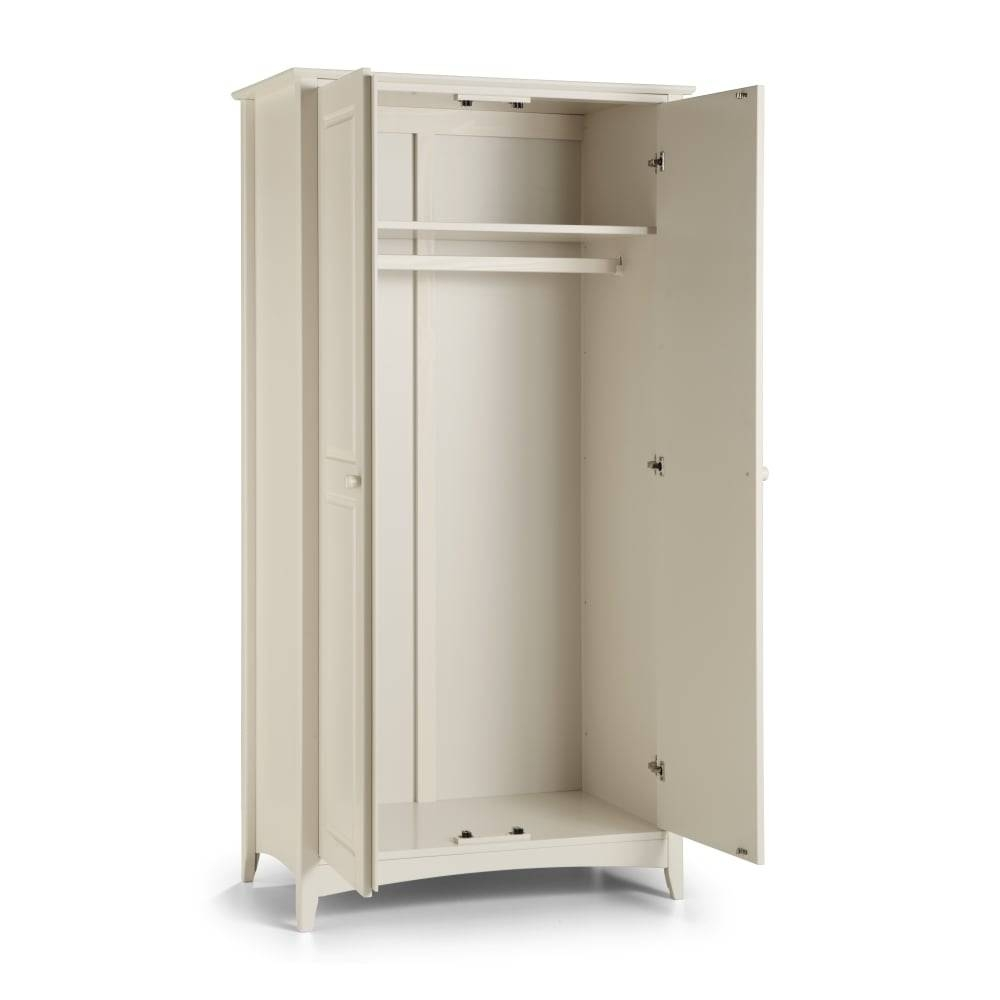 Cameo 2 Door Wardrobe | The Furniture House with Cameo 2 Door Wardrobes (Image 6 of 15)