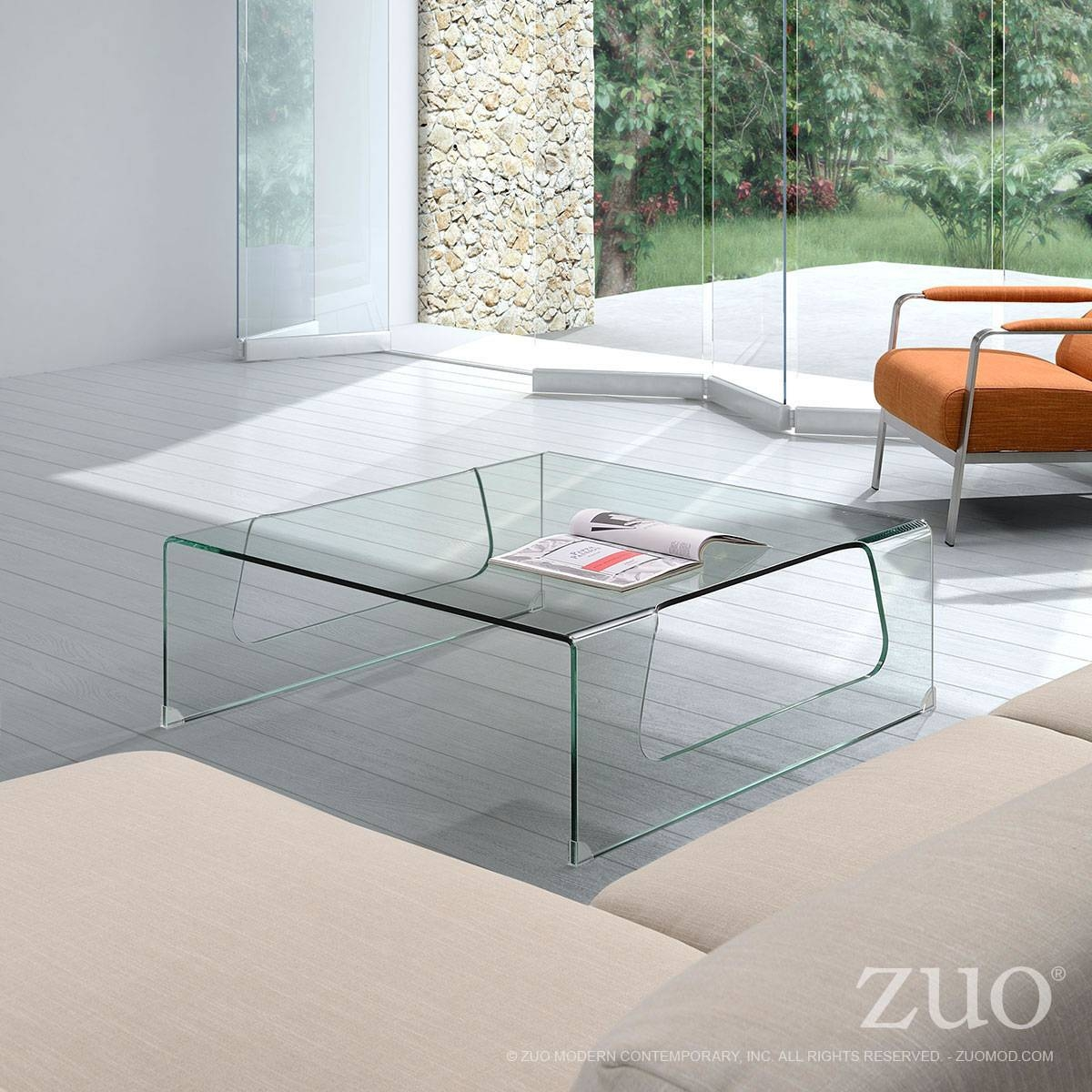 Campaign Coffee Tablezuo Modern with Campaign Coffee Tables (Image 5 of 30)