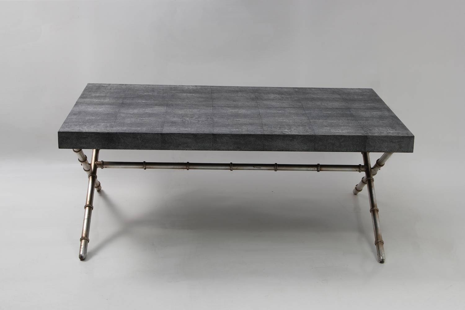 Campaign Table - Charcoal Shagreen | Forwood Design for Campaign Coffee Tables (Image 7 of 30)
