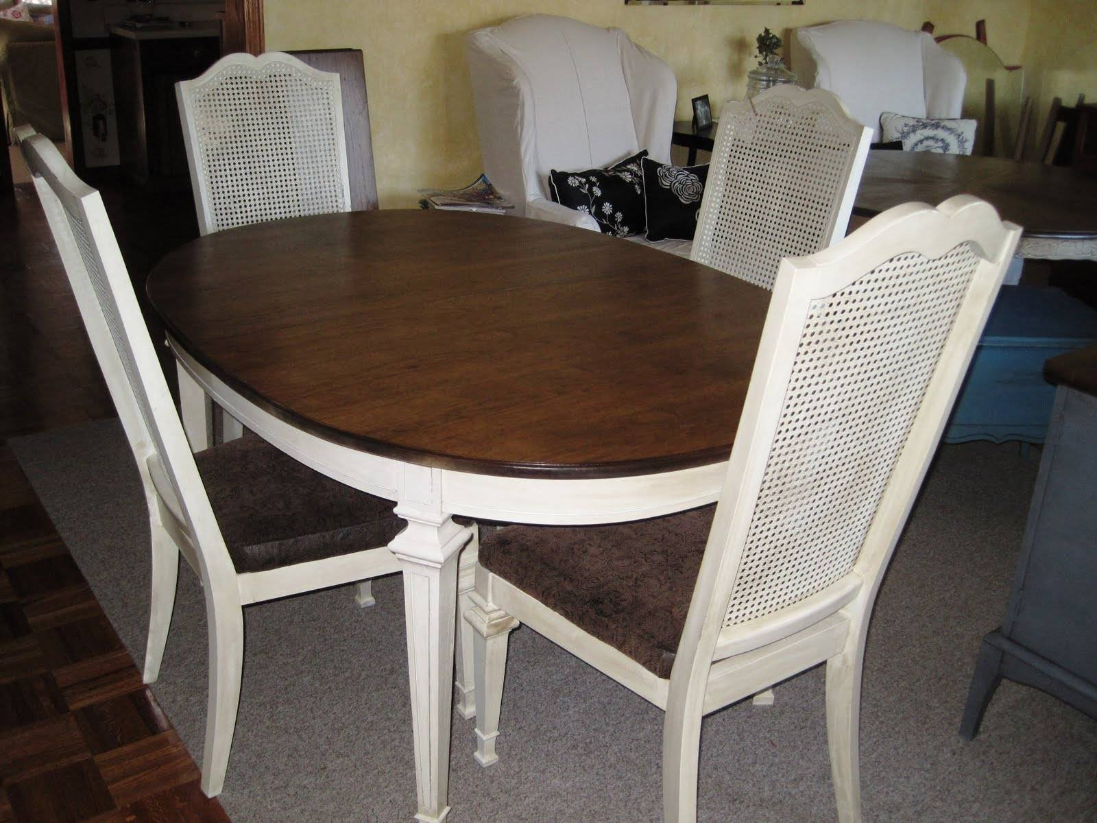 Cane Back Dining Chair | Homesfeed for White Cane Sofas (Image 8 of 30)