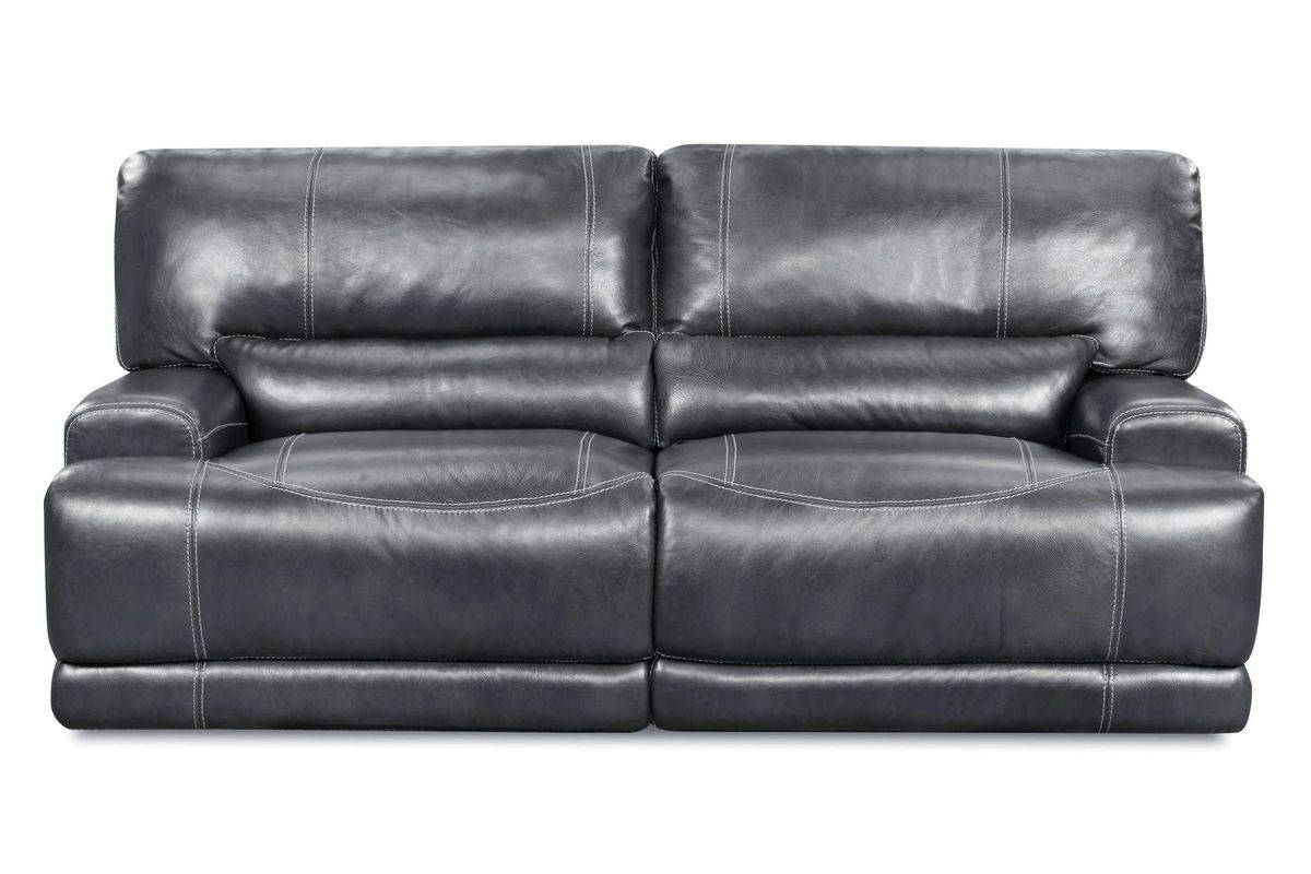 Cannon Leather Power Reclining Sofa with Recliner Sofa Chairs (Image 8 of 30)