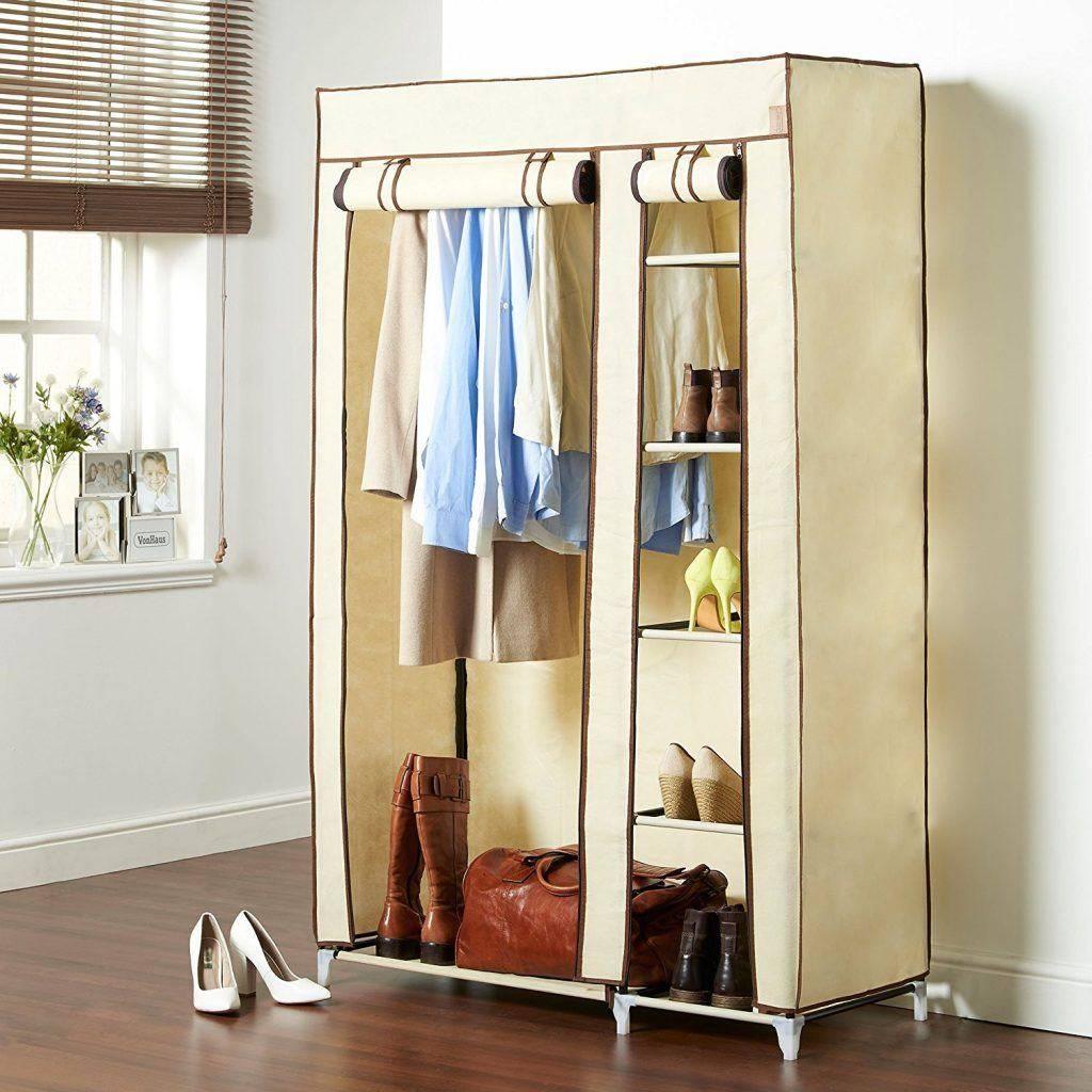Canvas Wardrobes - Storage Ideas with regard to Double Rail Wardrobes Argos (Image 14 of 30)