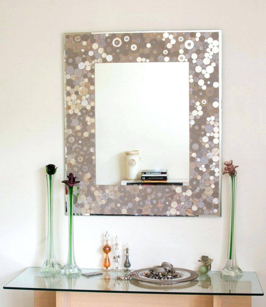 Captivating Diy Bathroom Mirror Frame Ideas With Cool Expensive intended for Expensive Mirrors (Image 18 of 25)