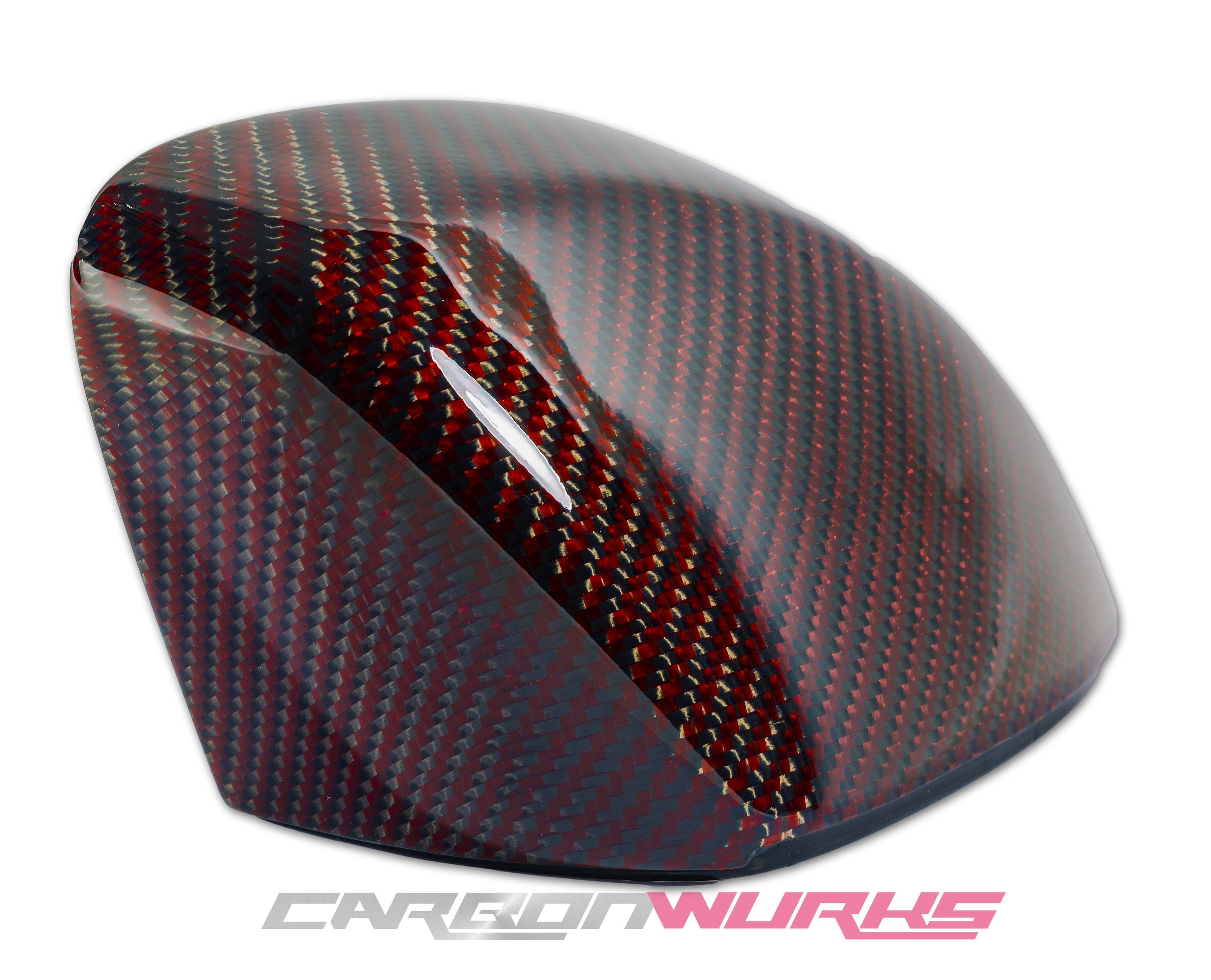 Carbonwurks Custom Carbon Fibremercedes Benz Carbon Fibre Door intended for Red Mirrors (Image 7 of 25)