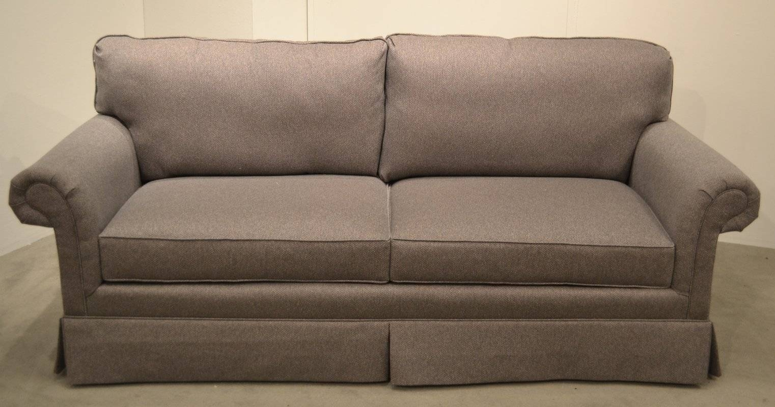 Carolina Classic Furniture Two Cushion Sofa | Wayfair for Cushion Sofa Beds (Image 4 of 30)