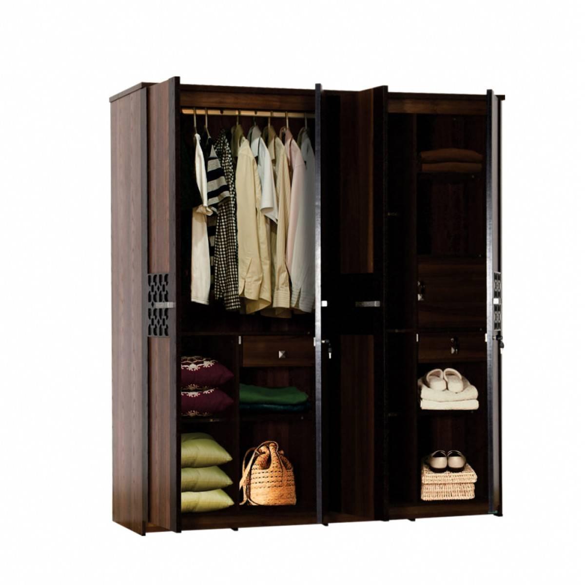 Carvin 4 Door Wardrobe | Damro throughout 4 Door Wardrobes (Image 4 of 15)