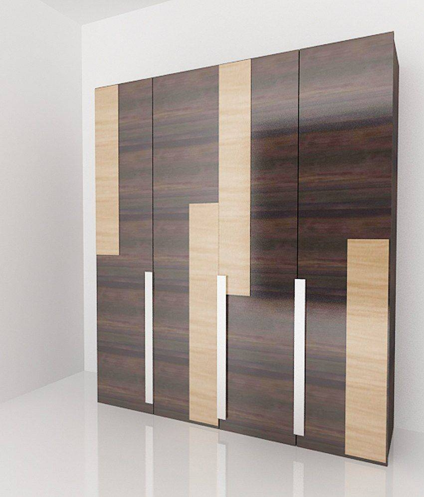 Casamia 4 Door Wardrobe: Buy Online At Best Price In India On Snapdeal inside Wardrobes With 4 Doors (Image 5 of 15)