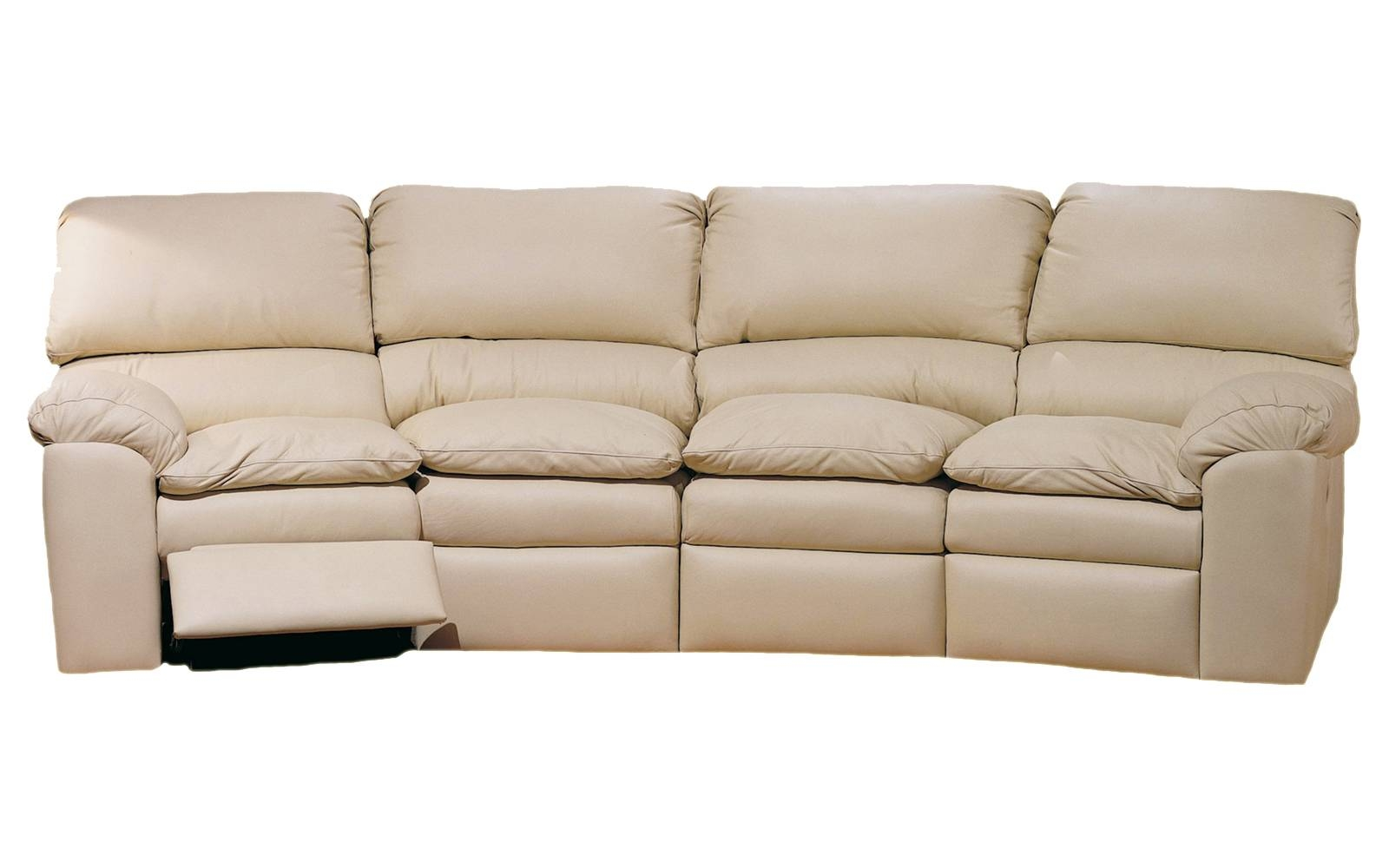 Catera 4 Seat Conversation Sofa – Omnia Leather in Four Seat Sofas (Image 9 of 30)