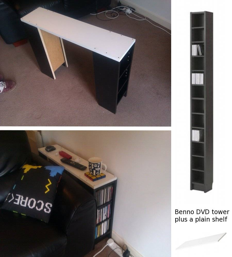 Cd Storage/sofa Table - Ikea Hackers - Ikea Hackers for Cd Storage Coffee Tables to Copy at Home (Image 6 of 30)