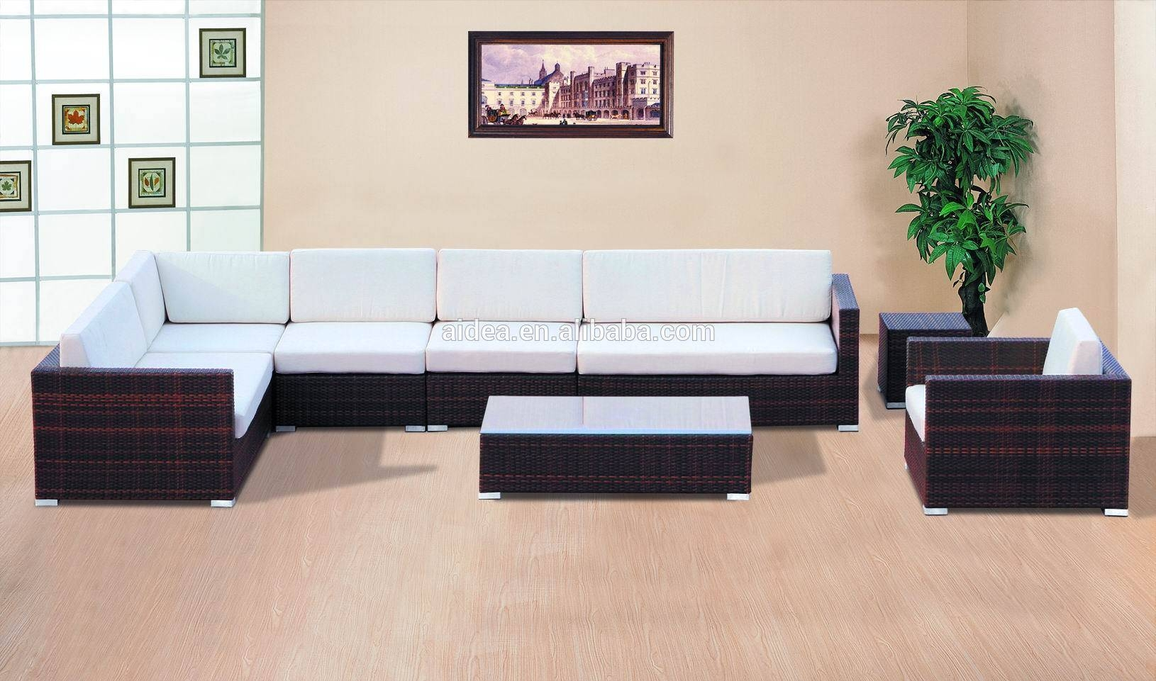Cebu Rattan Furniture, Cebu Rattan Furniture Suppliers And inside Modern Rattan Sofas (Image 9 of 30)
