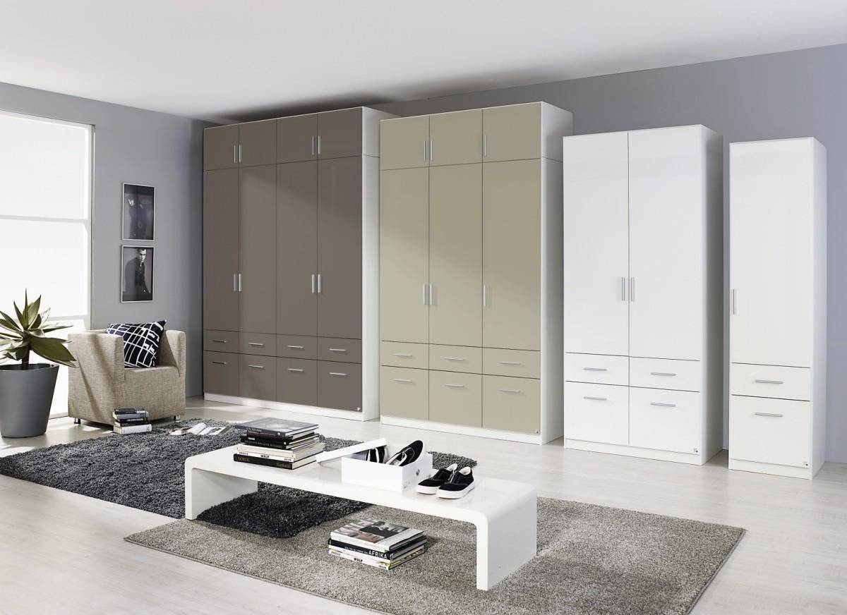 Celle 4 Doors High Gloss Wardrobe - 0El2 | Shawn Furniture for High Gloss Wardrobes (Image 3 of 15)