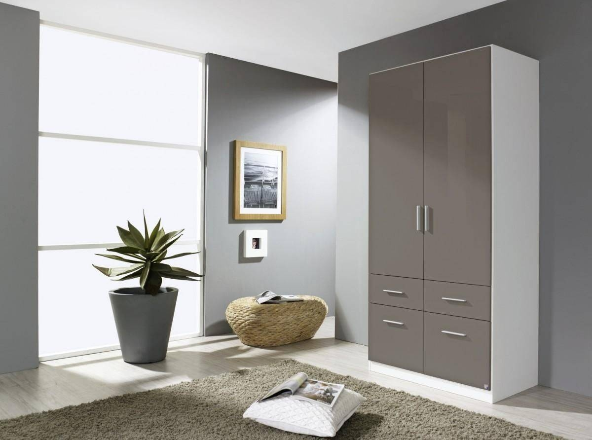 Celle 4 Doors High Gloss Wardrobe - 0El2 | Shawn Furniture with Glossy Wardrobes (Image 2 of 15)
