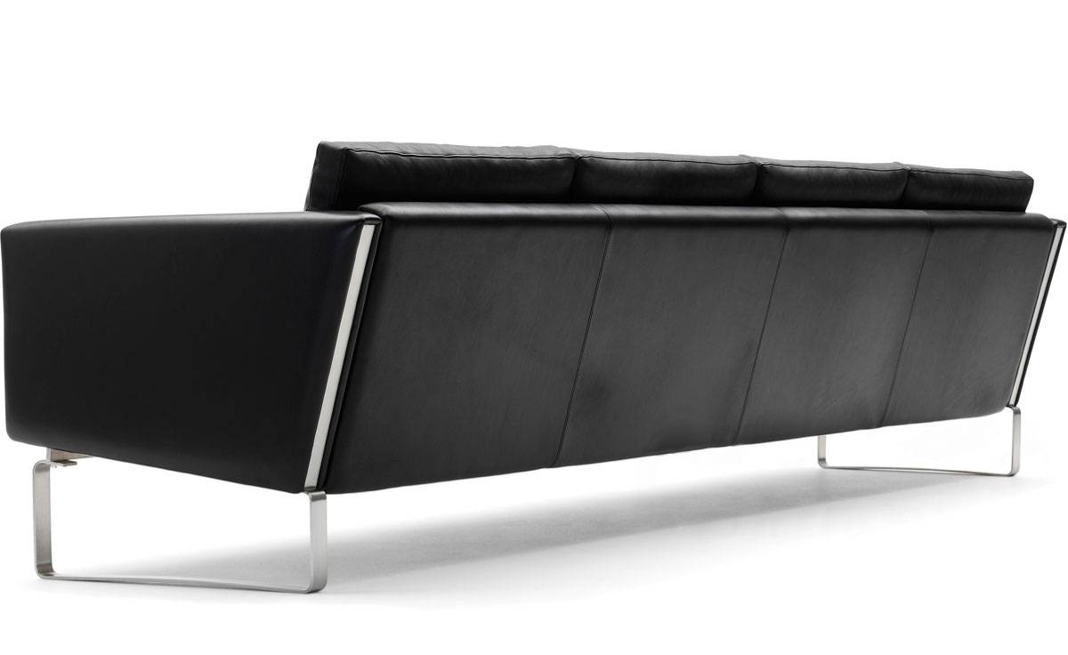 Ch104 4-Seat Sofa - Hivemodern with Four Seat Sofas (Image 10 of 30)
