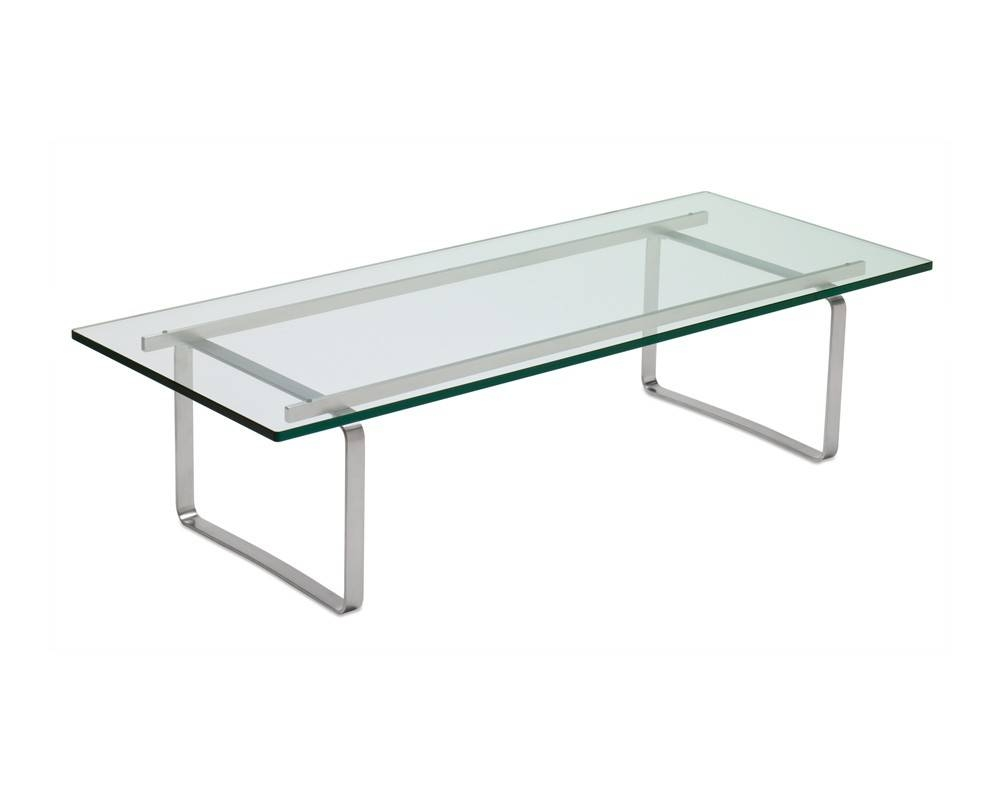 Ch108 Glass Elegant Office Coffee Tables | Coalesse inside Chrome and Wood Coffee Tables (Image 5 of 30)