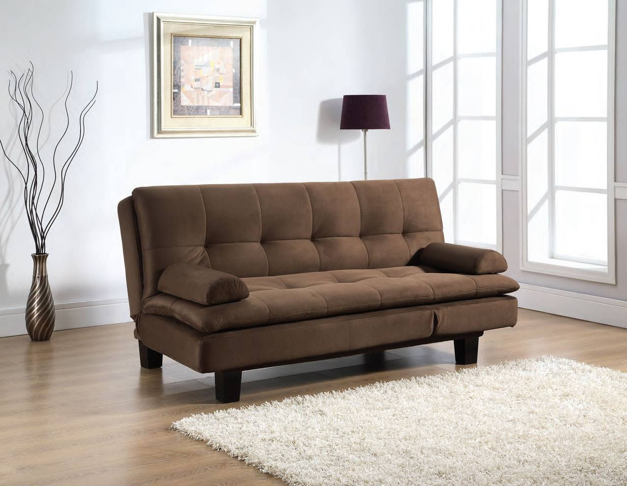 Chair Furniture Comfortable Serta Convertible Sofa Bed Armless Regarding Sofa Bed Chairs (View 6 of 30)