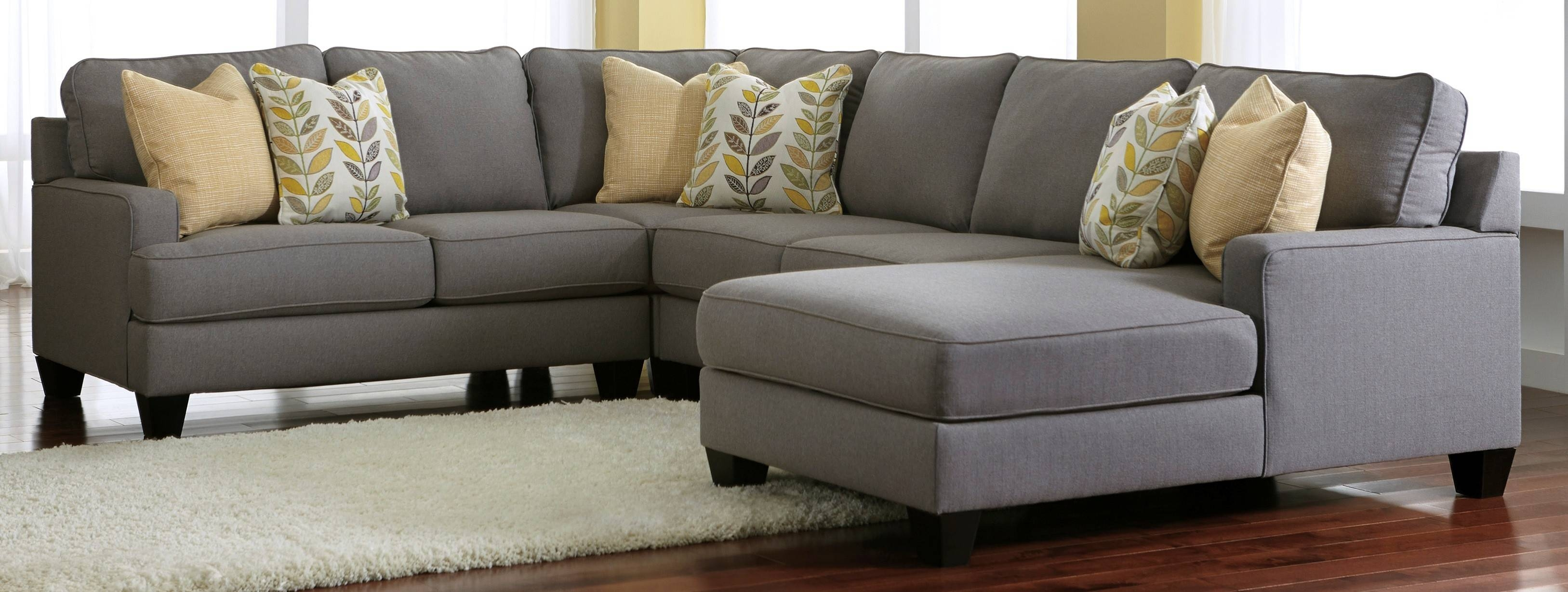 Chair & Sofa: Have An Interesting Living Room With Ashley regarding Ashley Furniture Gray Sofa (Image 18 of 30)