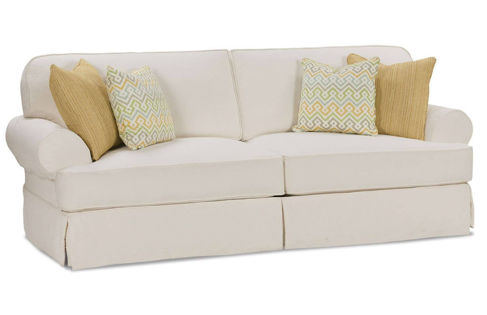 Chair & Sofa: Usual Slipcovered Sofas For Classic Sofa Idea throughout Sofa With Washable Covers (Image 1 of 30)