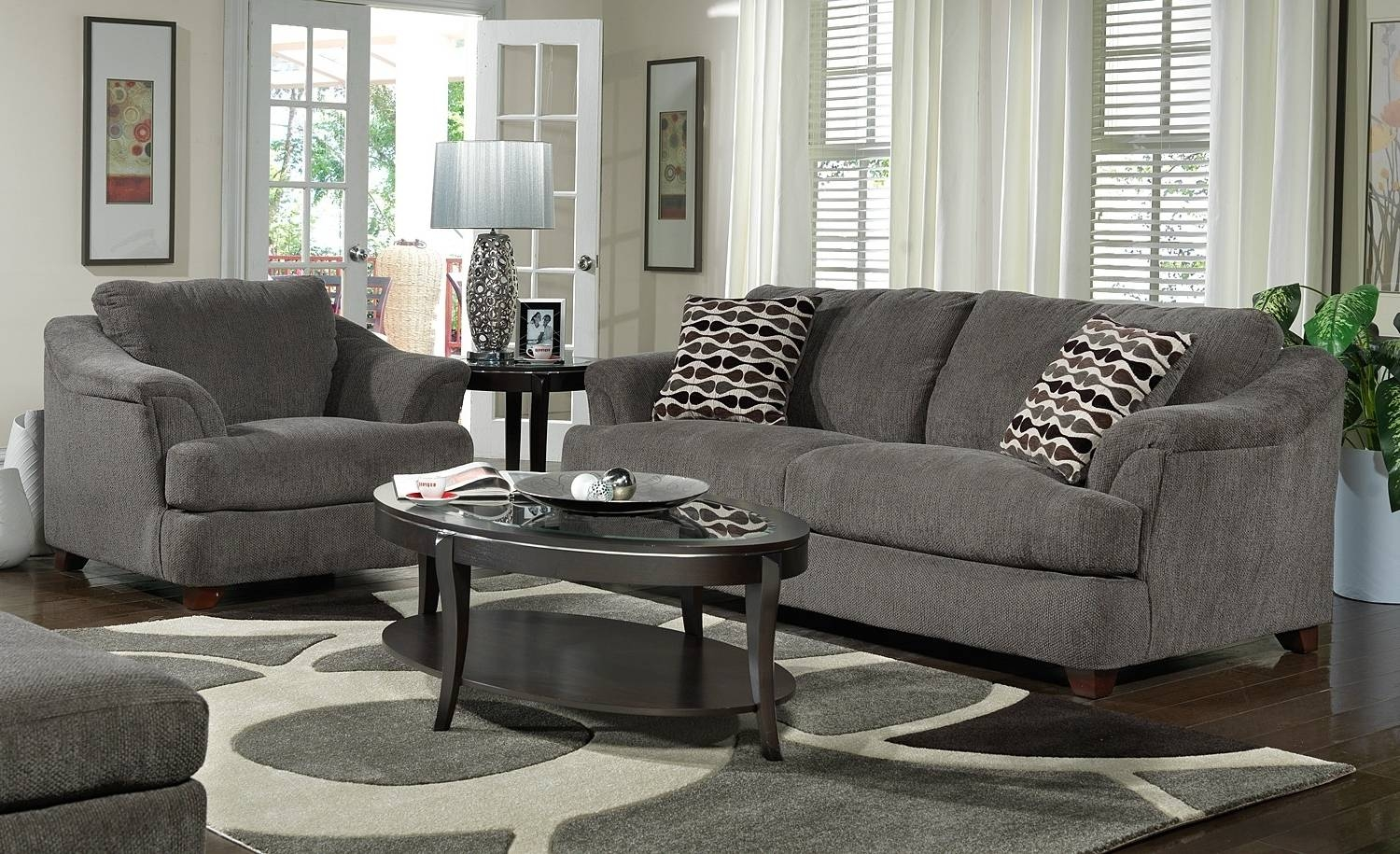 Chairs: Astonishing Gray Living Room Chairs Gray Tufted Chair Pertaining To Grey Sofa Chairs (Photo 6 of 30)