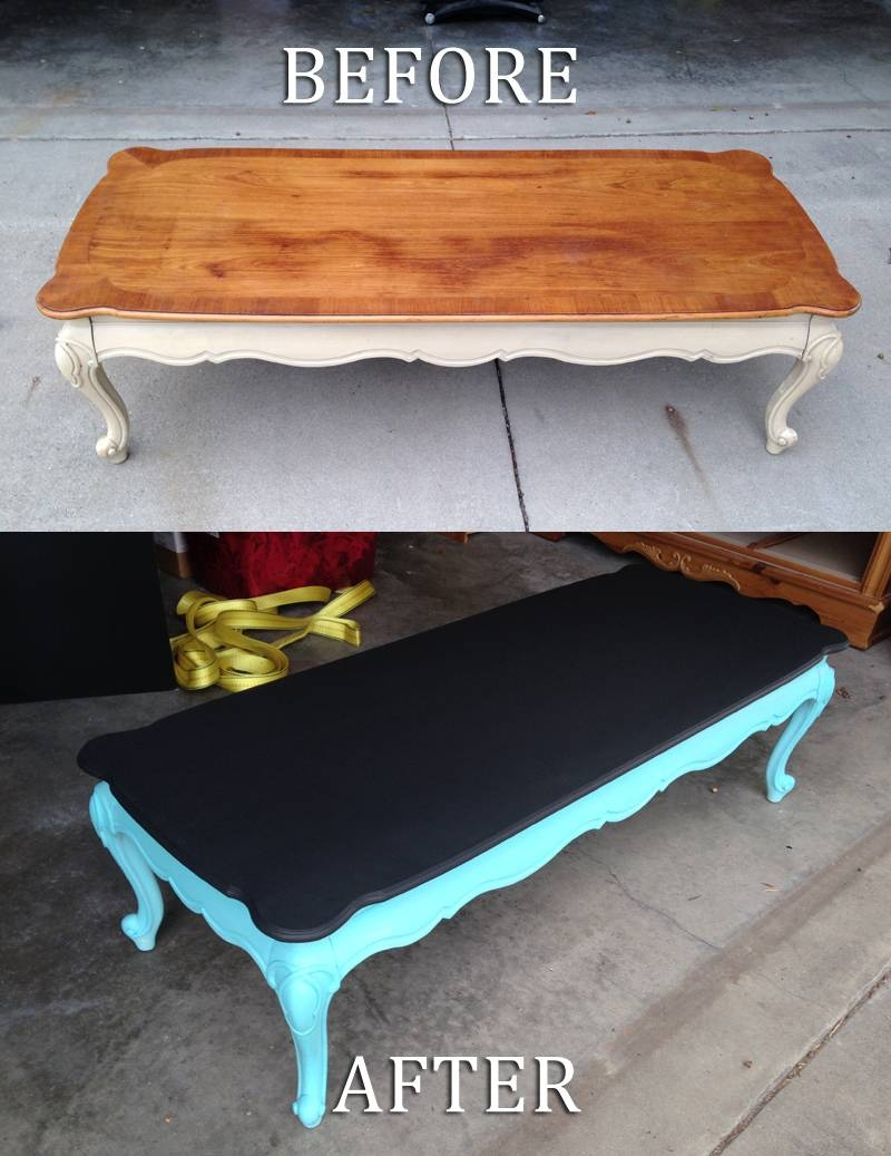 Chalkboard Coffee Table | Idi Design throughout Kids Coffee Tables (Image 5 of 30)