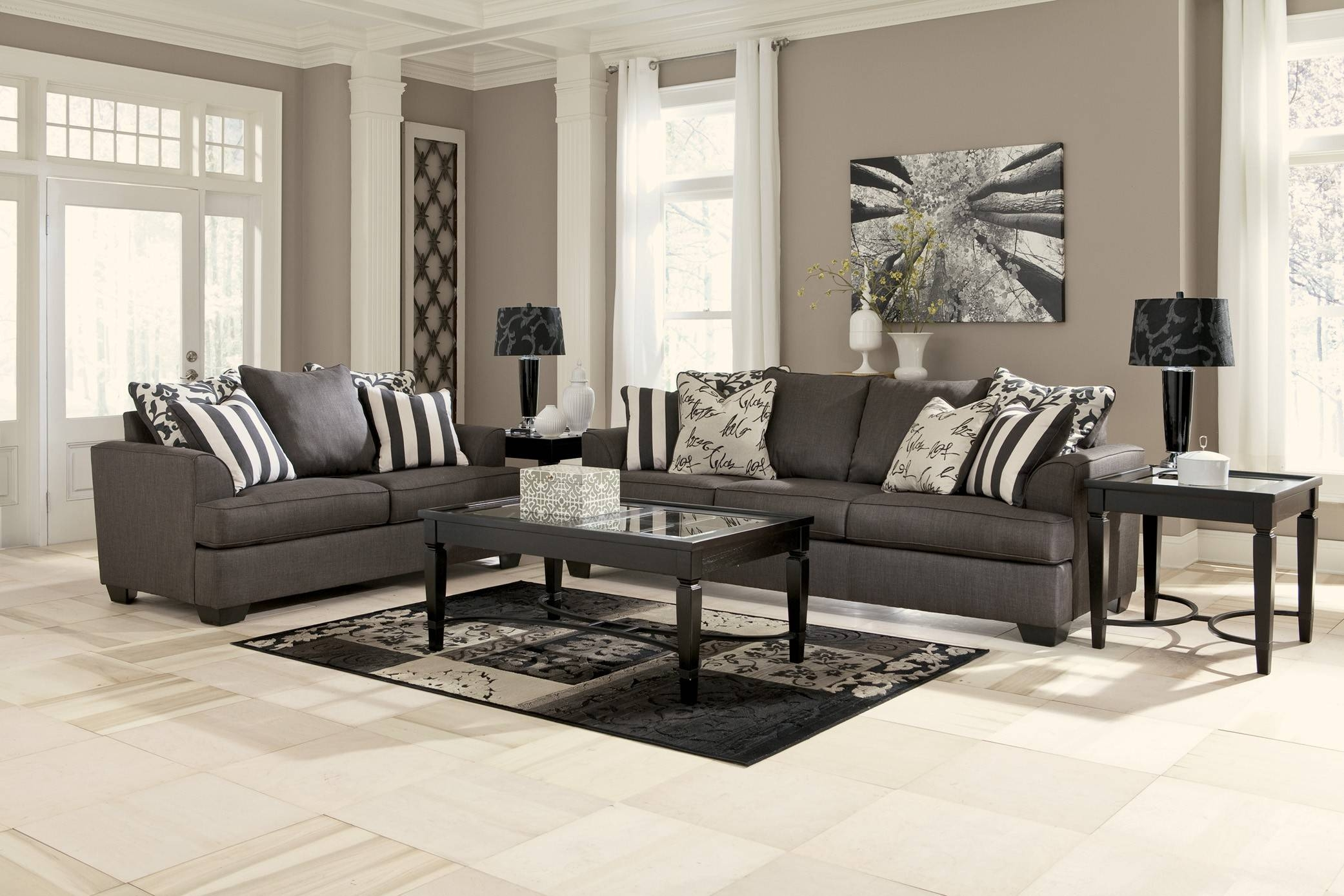 Charcoal Grey Sofa Decorating Ideas | Tehranmix Decoration in Charcoal Grey Sofas (Image 7 of 30)
