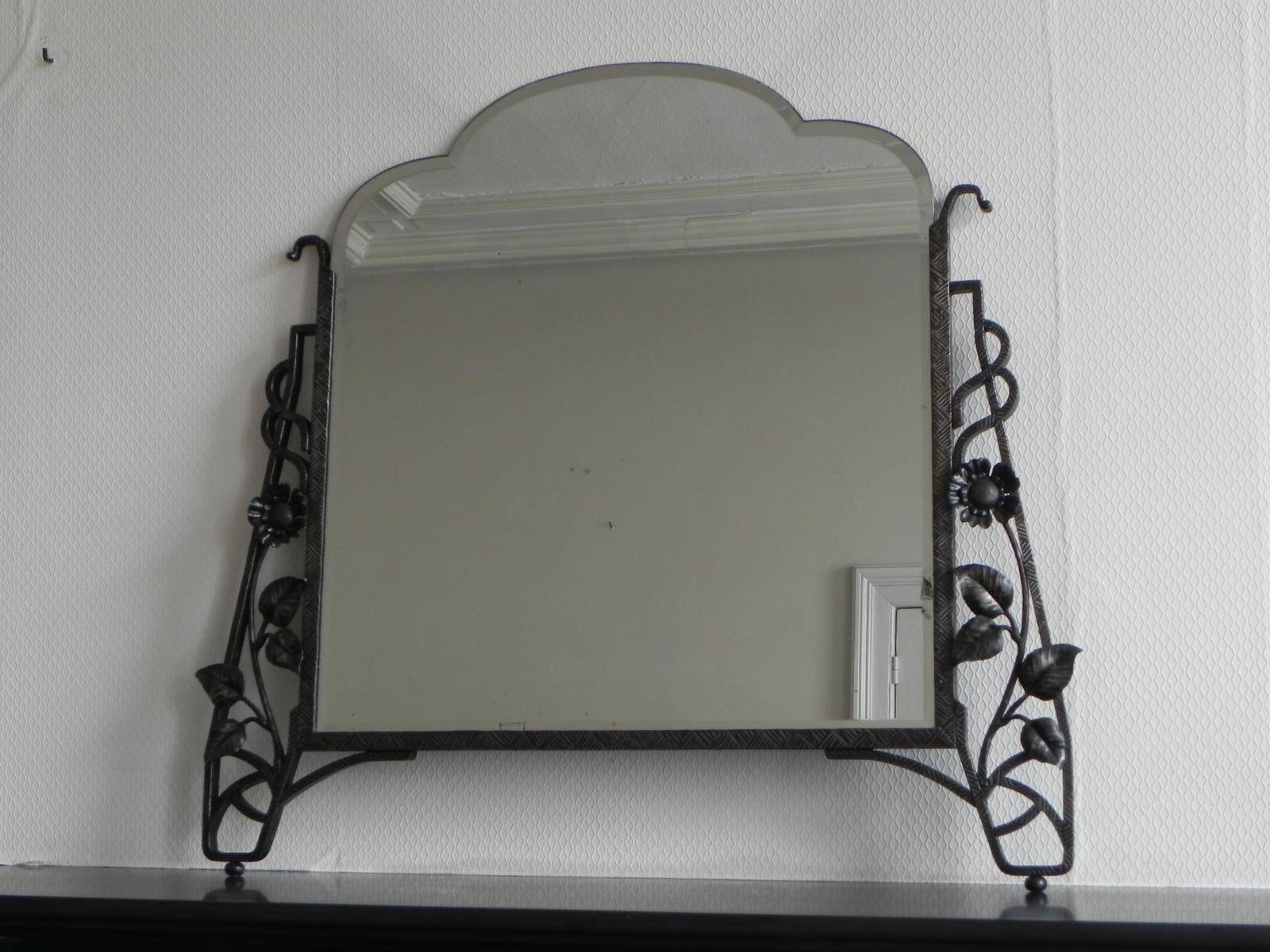 Charleston Original Handcrafted Art Deco Fan Wall Mirror Art Deco in Original Art Deco Mirrors (Image 14 of 25)