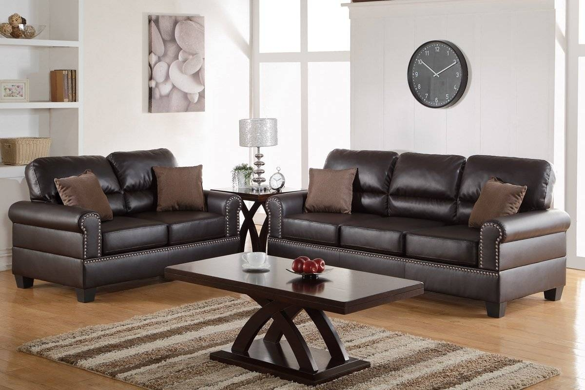 Charlton Home Boyster 2 Piece Sofa And Loveseat Set & Reviews in Sofa Loveseat And Chair Set (Image 9 of 30)