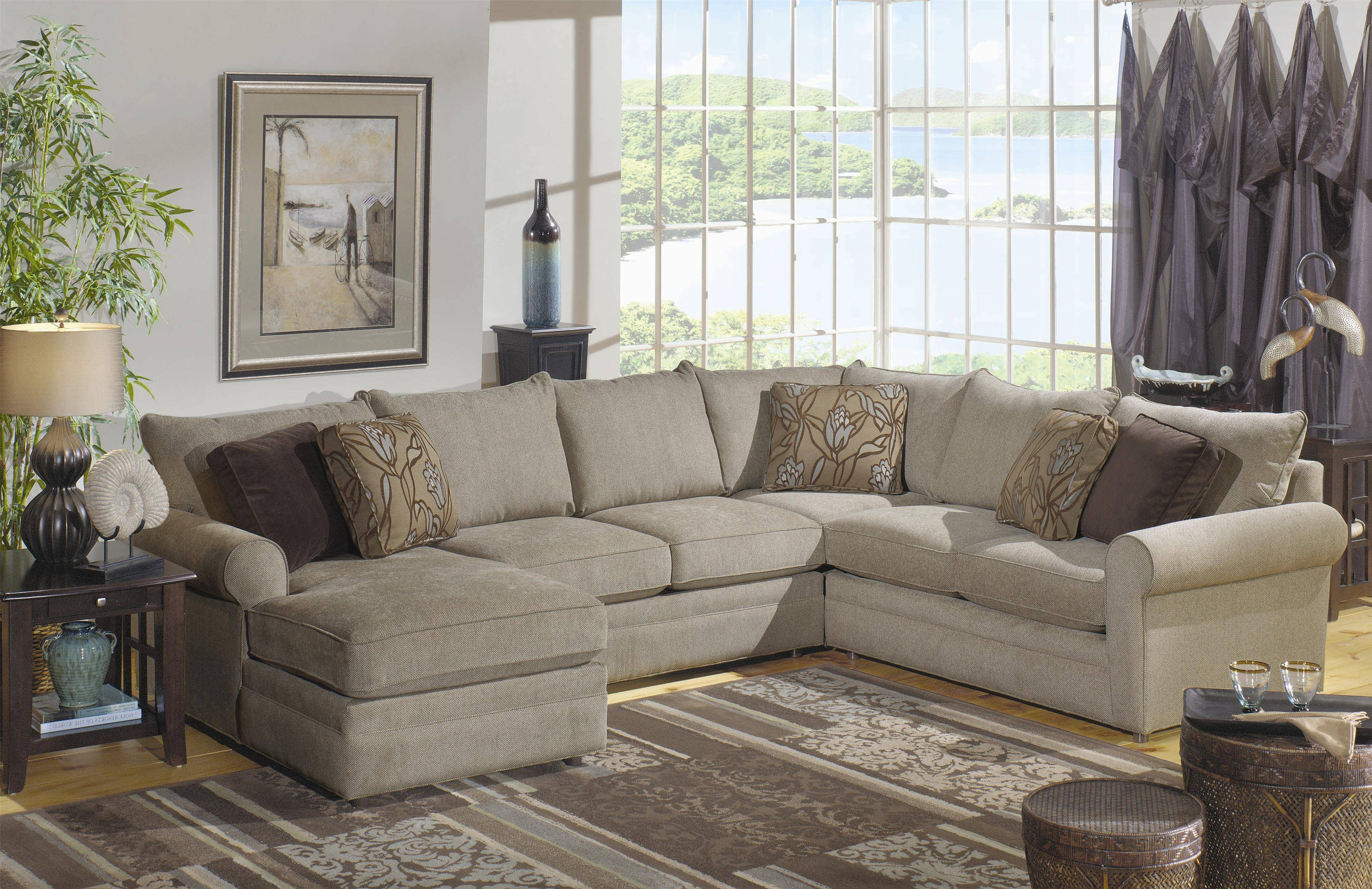 Charming Craftmaster Sectional Sofa 33 For Classic Sectional Sofas within Classic Sectional Sofas (Image 6 of 30)