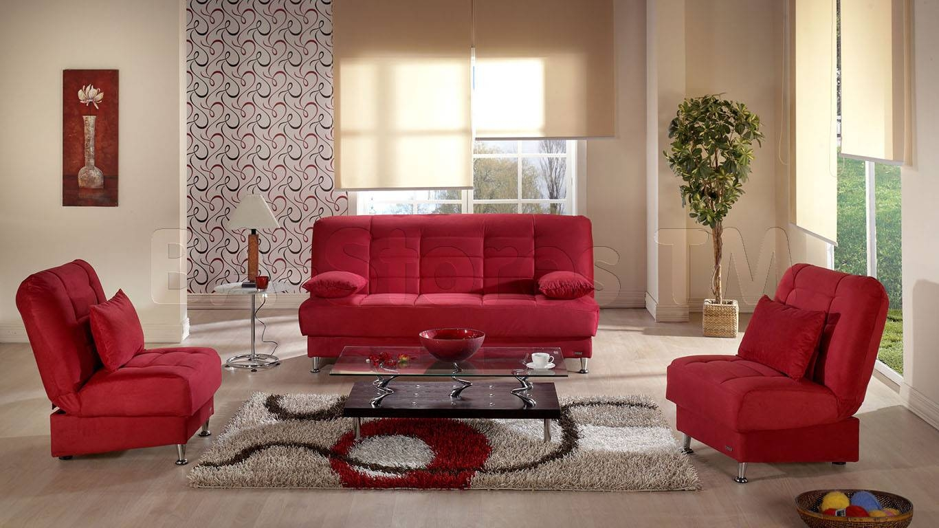 Charming Red Living Room Chairs Ideas – Red Couches Living Room within Red Sofas and Chairs (Image 4 of 30)