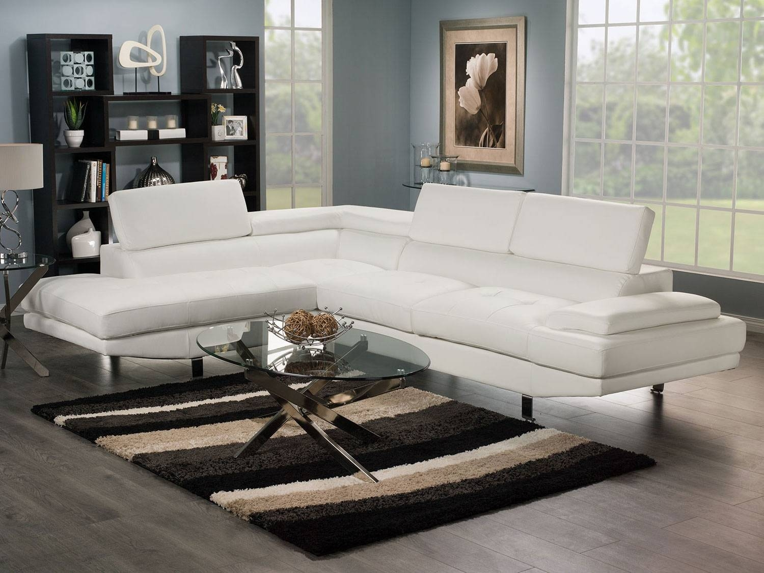 Charming Zane Sectional Sofa 16 For Your Diana Dark Brown Leather pertaining to Diana Dark Brown Leather Sectional Sofa Set (Image 13 of 30)