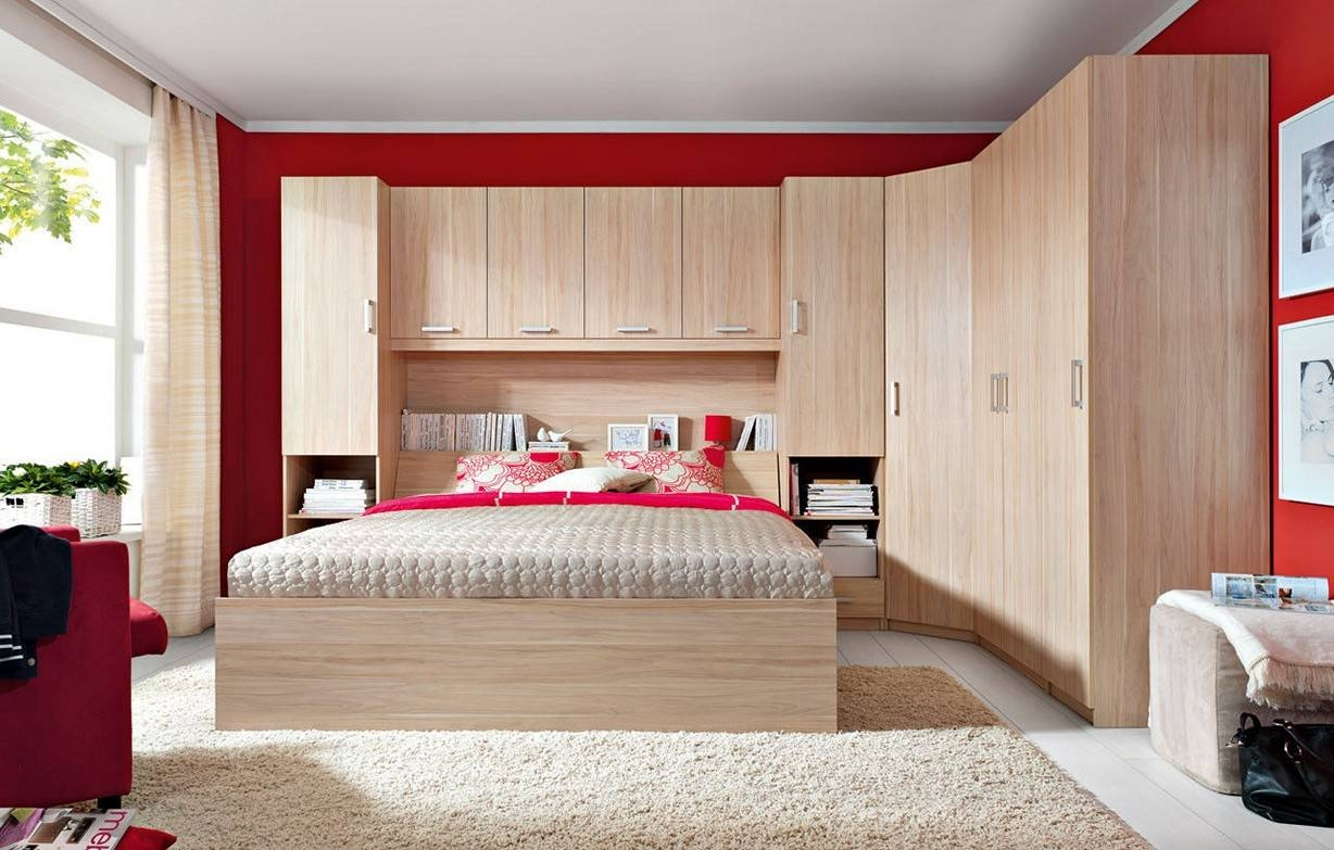 Cheap Bedroom Storage Units. Cool 15 Small Bedroom Designs. Vanity intended for Over Bed Wardrobes Sets (Image 11 of 15)