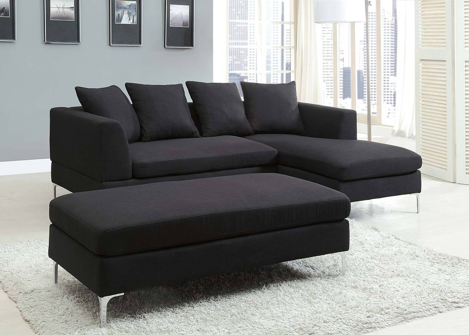 Cheap Black Sectional Sofa - Tourdecarroll within Cheap Black Sofas (Image 5 of 30)