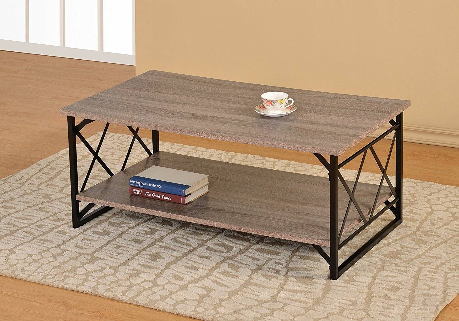 Cheap Coffee Tables Under $100 That Work For Every Style with regard to Cheap Oak Coffee Tables (Image 6 of 30)