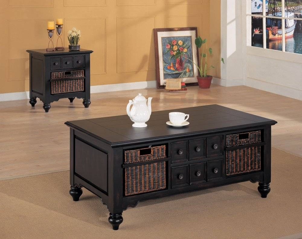 Cheap Dark Wood End Tables | Decorative Table Decoration regarding Dark Wood Coffee Table Storages (Image 6 of 30)