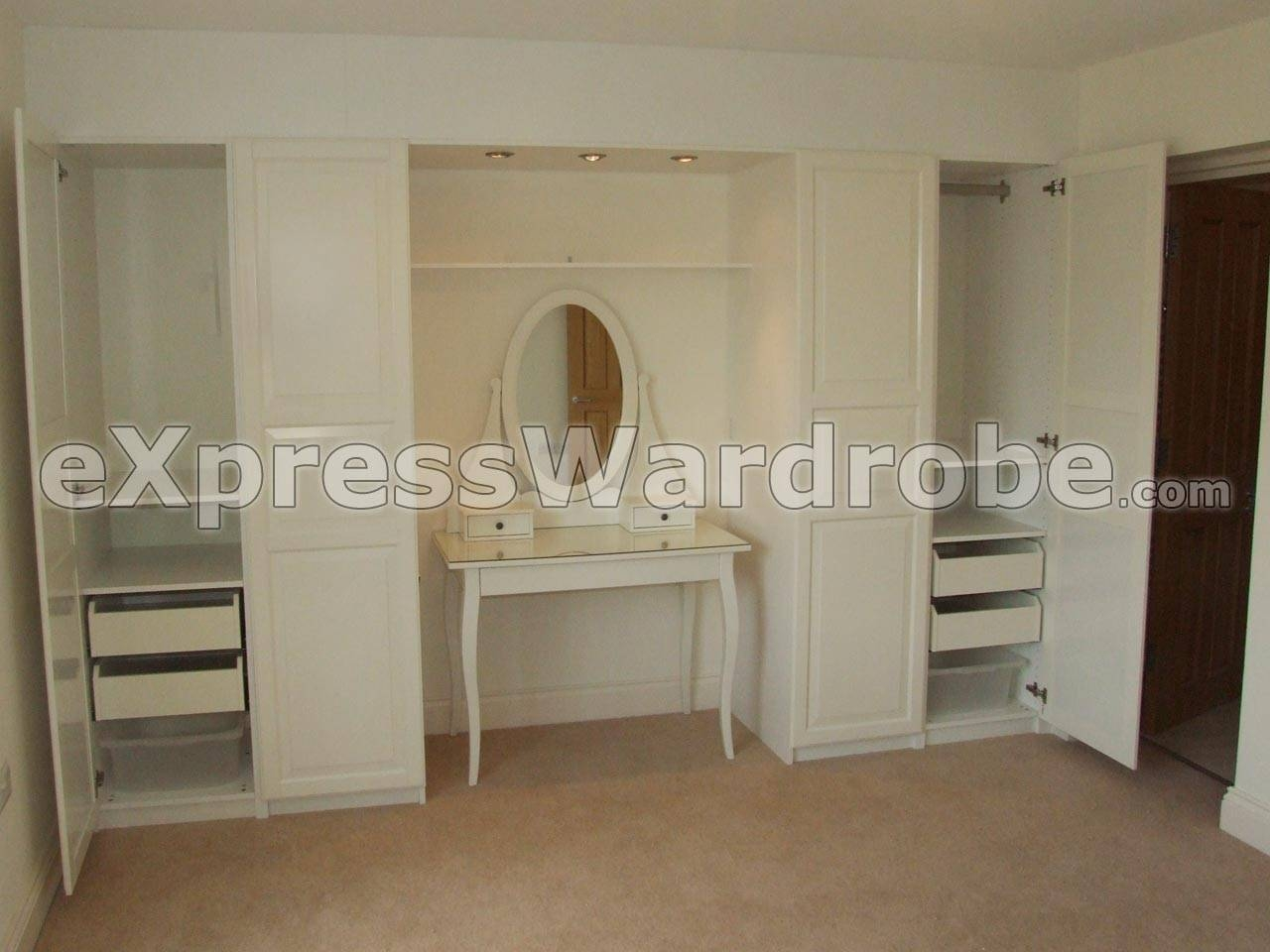 Cheap Fitted Wardrobes | Fitted Bedrooms | Fitted Bedroom intended for Discount Wardrobes (Image 12 of 30)